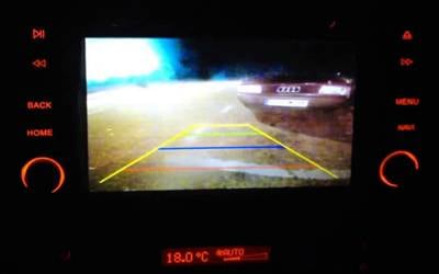 Backup Camera Supported