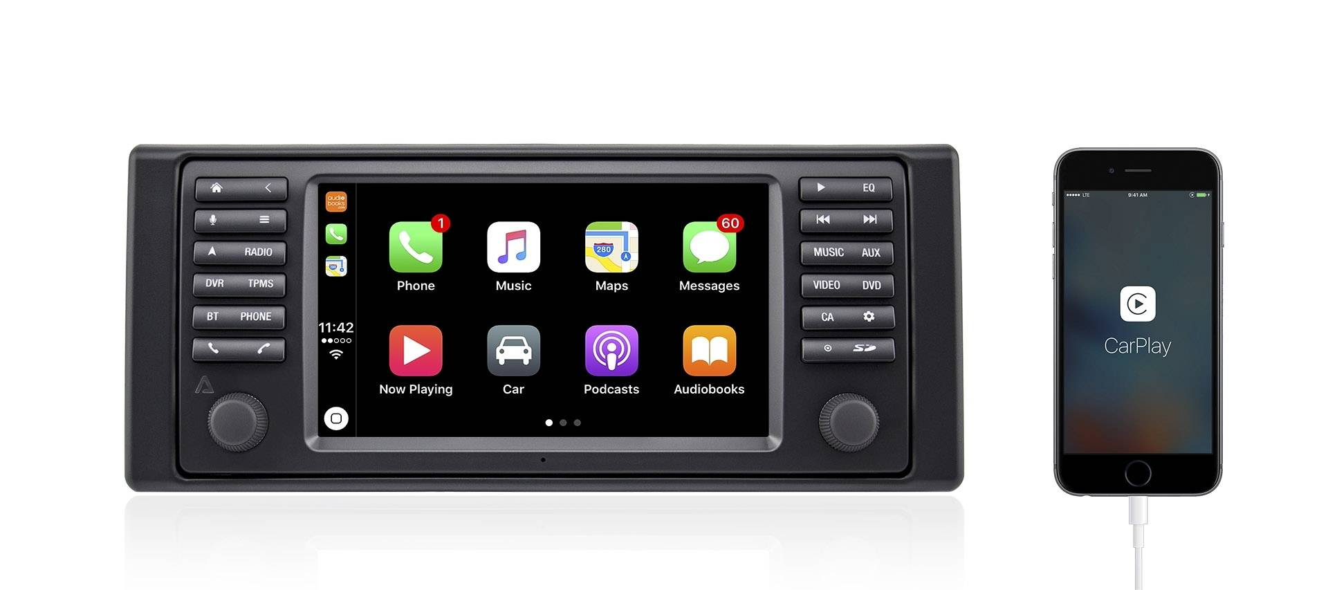 Apple CarPlay (Optional)