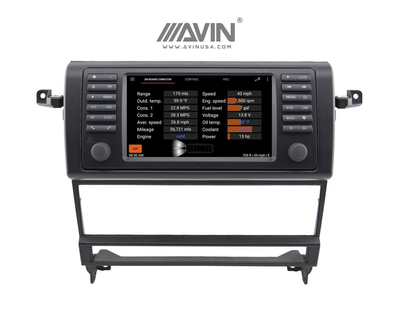 AVANT 4 Multimedia Navigation System for BMW 7-Series E38