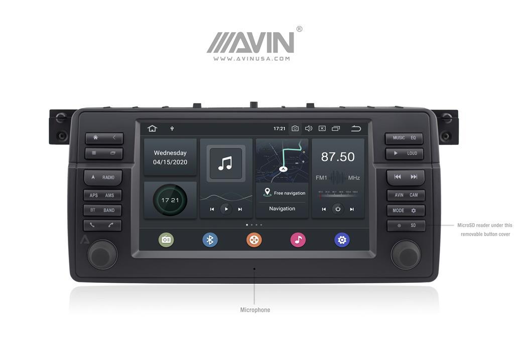 AVINUSA_Avant4_for_BMW_E46_Android_10_Launcher_720_