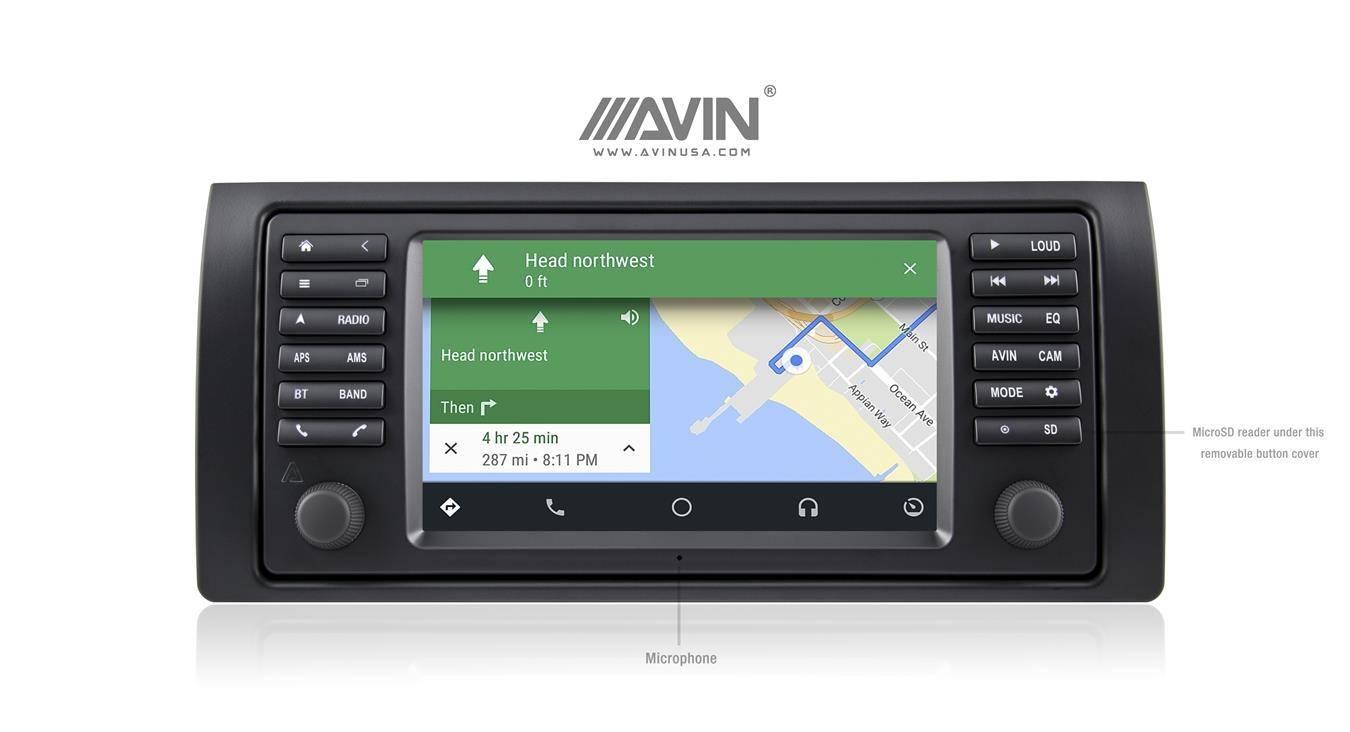 AVANT 4 Multimedia Navigation System for BMW X5 E53