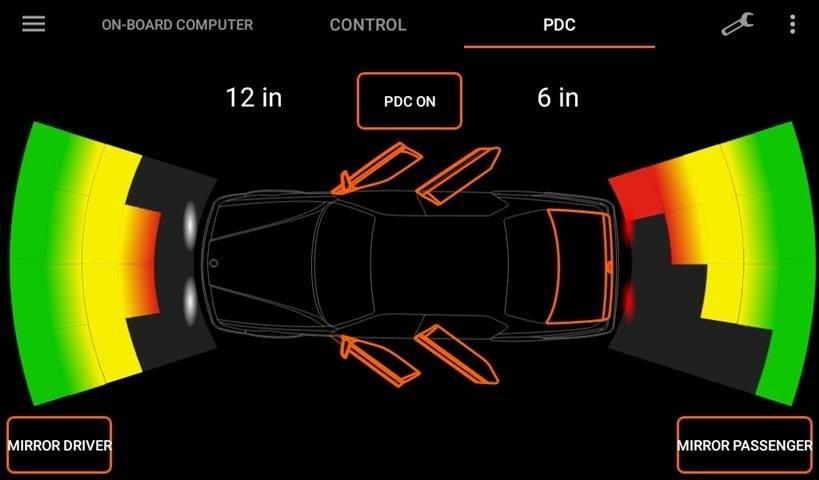 E38 Parking Distance Control