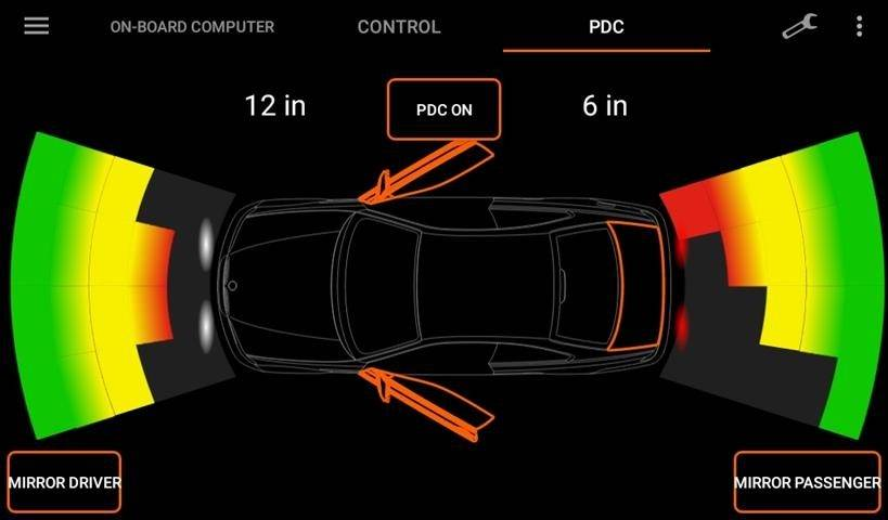 Parking Distance Control