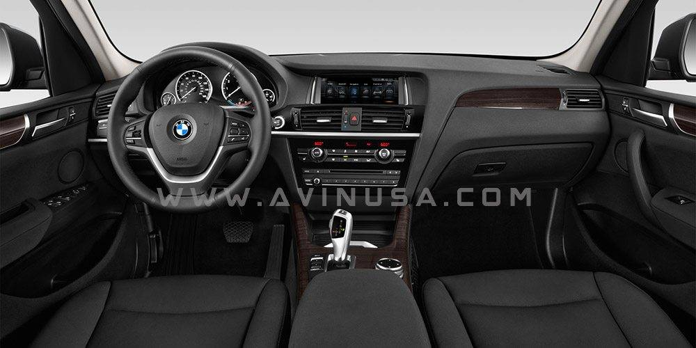 BMW X3 AVIN Android Navigation