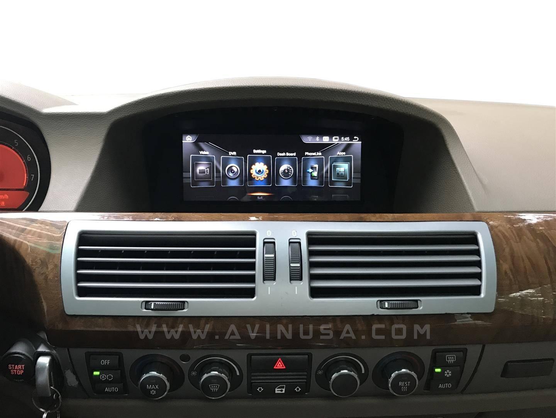 88 bmw 7 series e65 e66 e67 e68 multimedia navigation system now with new 2017 bmw nbt evo id6 ui altavistaventures Images