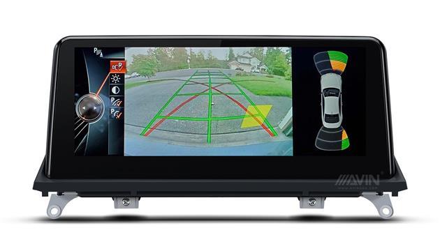 AVINUSA_BMW_E70_E71_Backup_Camera_PDC__Custom_