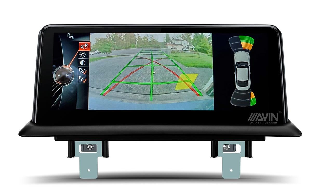 AVINUSA_BMW_E87_E88_E81_E82_PDC_Backup_Camera_Custom_