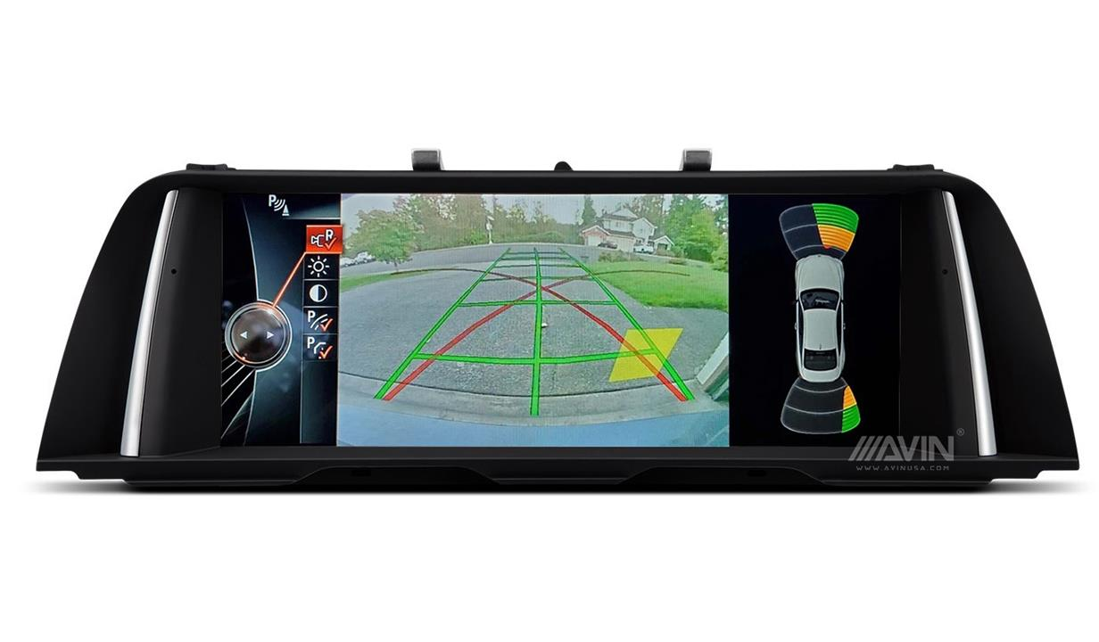 AVINUSA_BMW_F10_Backup_Camera_PDC_Custom_