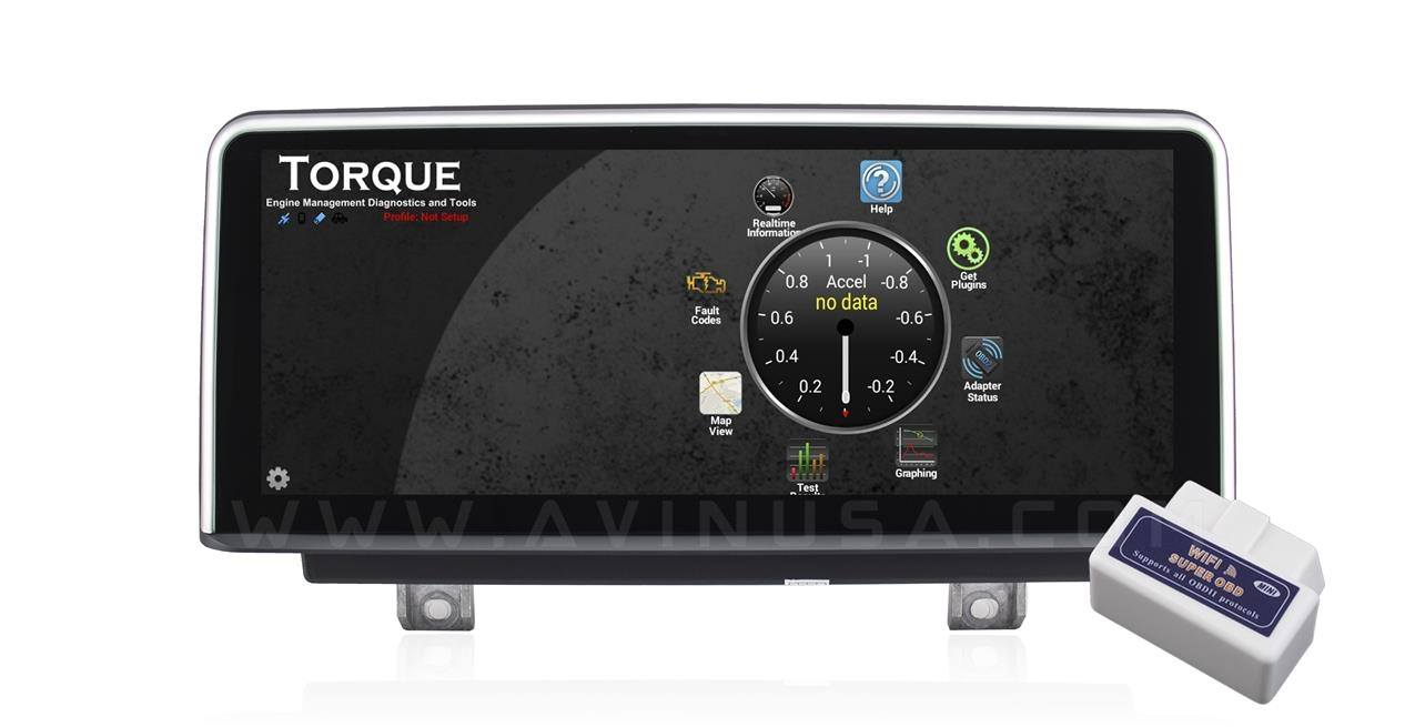 WIFI OBD2 for Torque Diagnostic and Performance Data