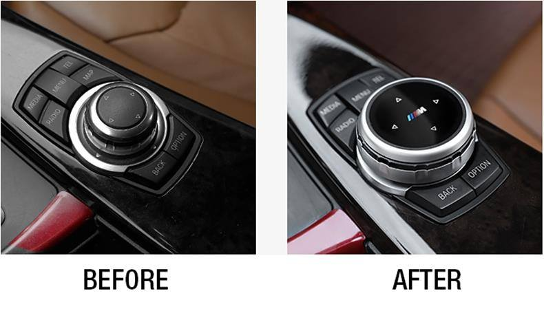 BMW iDrive Controller Upgrade Cover